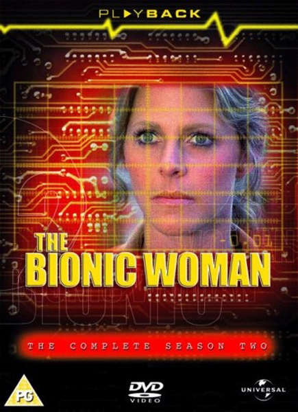 the bionic woman complete season 2 dvd zavvi