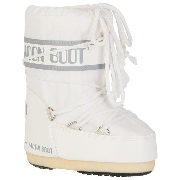 Moon Boot Kids Nylon Boots White Clothing Thehut Com