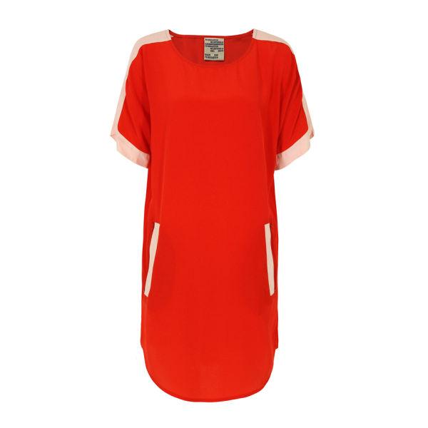 Baum und Pferdgarten Womens Hayden Silk Dress - Red