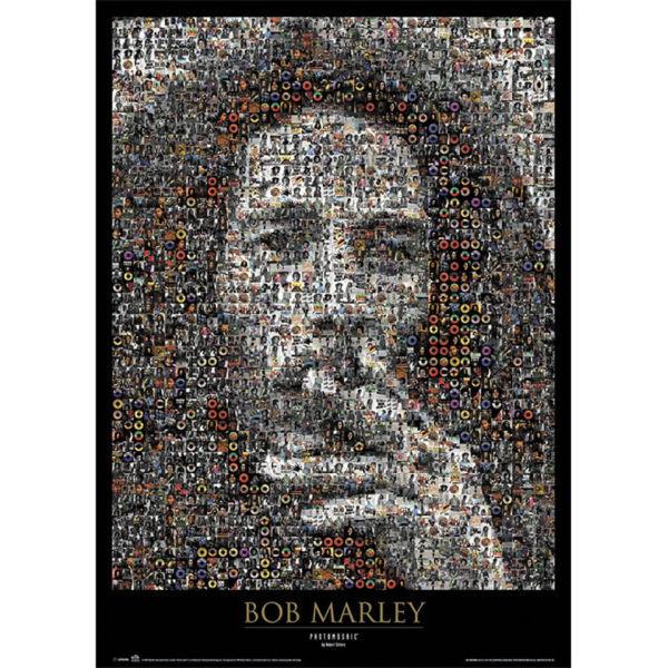 Bob Marley Mosaic - Maxi Poster - 61 x 91.5cm