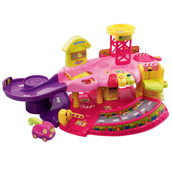 Vtech Toot Toot Drivers Garage Pink Toys Thehut Com