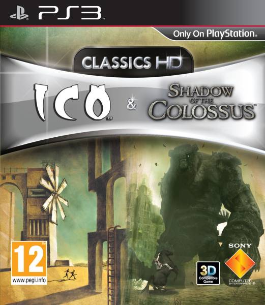 Kết quả hình ảnh cho Shadow of the Colossus HD cover ps3