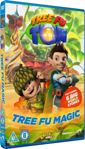 Tree Fu Tom Tree Fu Magic Dvd Zavvi