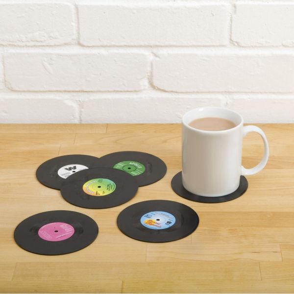 Dessous de Verre Vinyle Rétro