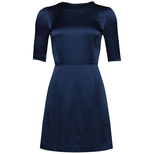 Marc by Marc Jacobs Women's Mareika Silk Dress - New Prussian Blue