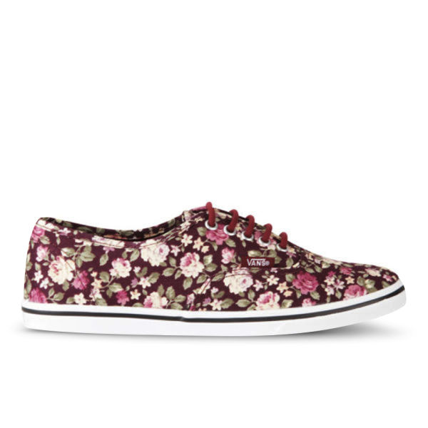 790564a1a37eae Vans Women s Authentic Lo Pro Floral Trainers - Tawny  Image 1