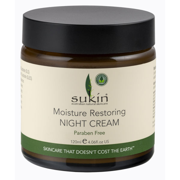 Sukin Moisture Restoring Night Cream (4 oz)