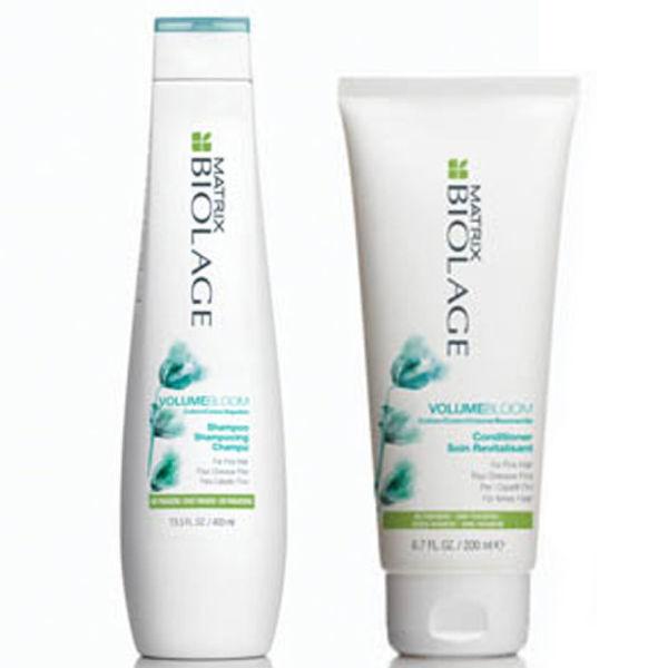 Shampoing et après-shampoing Volume Bloom de Matrix Biolage