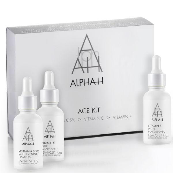 Vitaminas para el cuidado del rostro Alpha-H