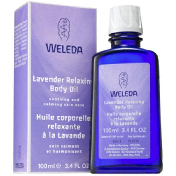 Huile relaxante Corps Lavande Weleda (100 ml)