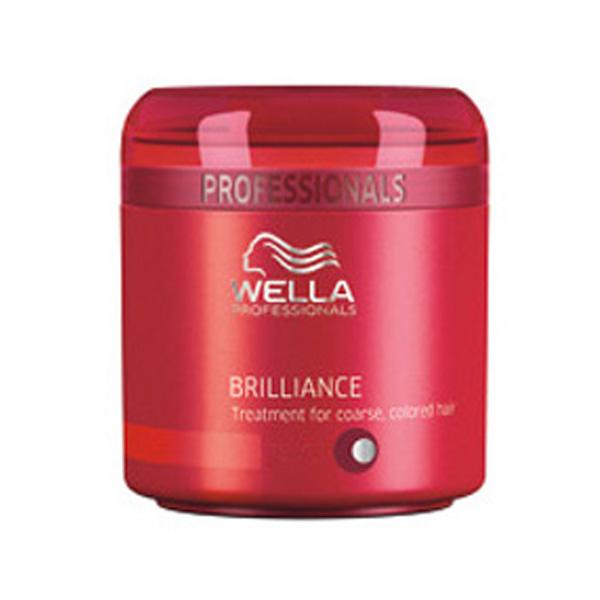 Masque brillance WELLA PROFESSIONALS BRILLIANCE - Cheveux fins/normaux colorés (150ML)