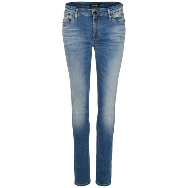 Denham Women's Elle Drop Mid Rise Slim Jeans