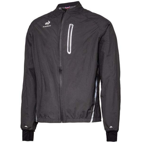 le coq sportif performance arcalis rain jacket black probikekit uk. Black Bedroom Furniture Sets. Home Design Ideas