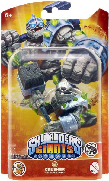 Skylanders Giants Giant Character Crusher Games Zavvi