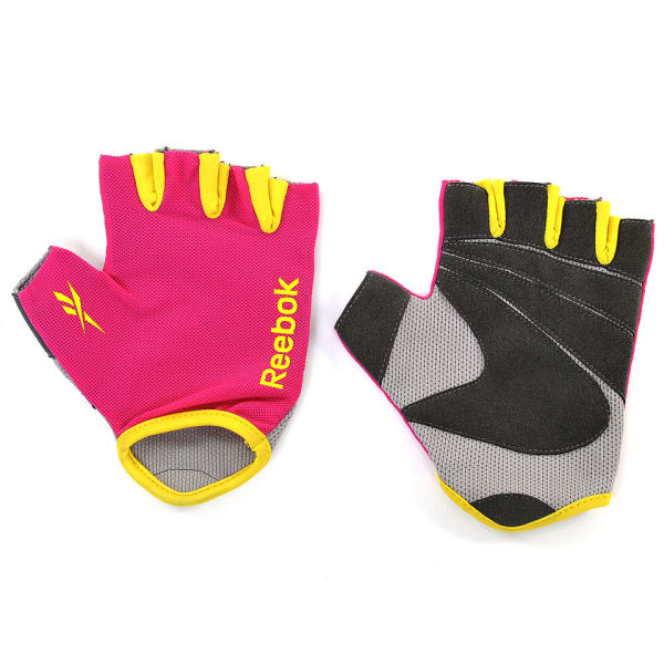 Fitness Gloves Com: Reebok Fitness Gloves - Magenta Sports & Leisure
