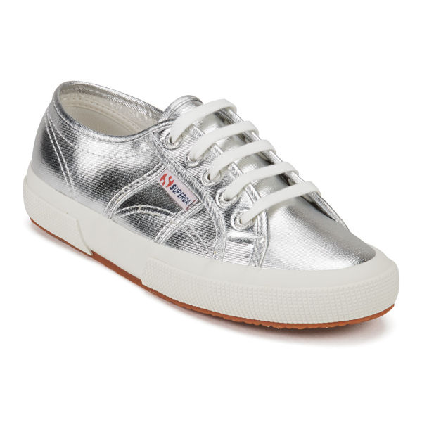 superga women 39 s 2750 cotmetu trainers silver free uk delivery. Black Bedroom Furniture Sets. Home Design Ideas
