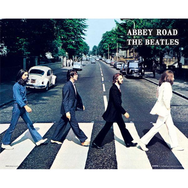 The Beatles Abbey Road - Mini Poster - 40 x 50cm