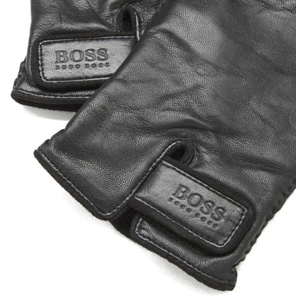 Boss Hugo Boss Men S Kranto 2 Leather Gloves Black