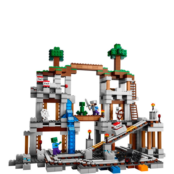 LEGO Minecraft The Mine (21118) Toys | TheHut.com