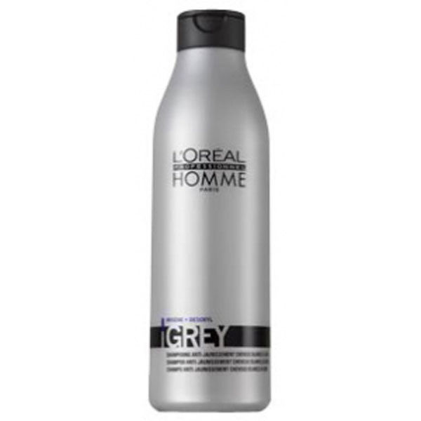 L'Oréal Professionnel Homme Grey – Anti Yellowing Shampoo (250ml)