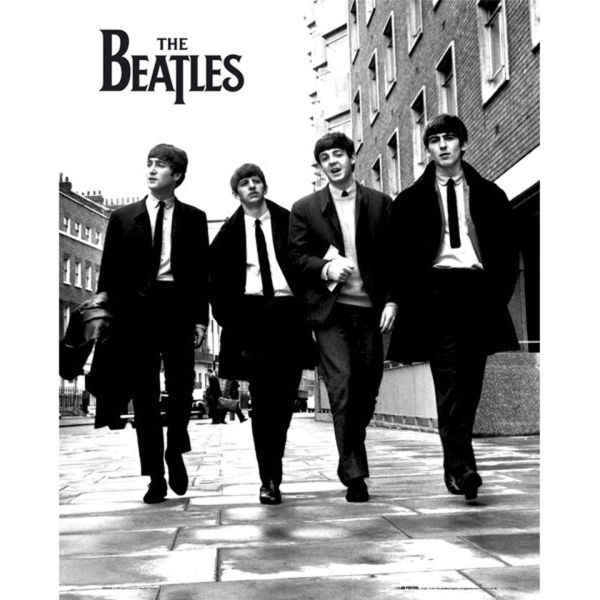The Beatles In London - Mini Poster - 40 x 50cm