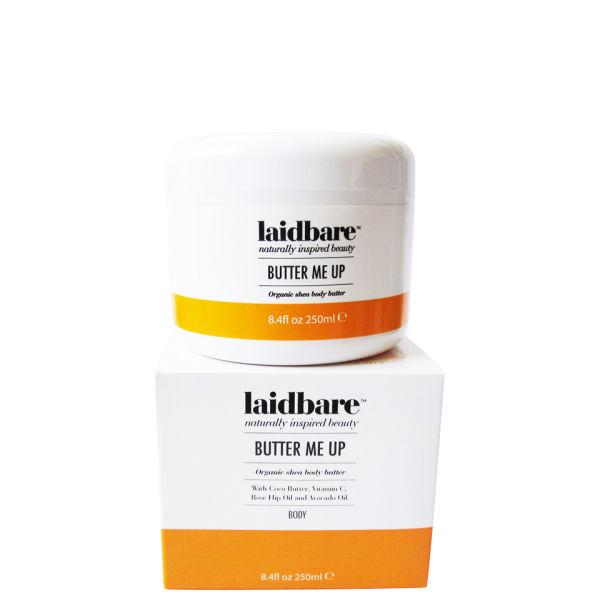 Laidbare Butter Me Up Organic Shea Body Butter (250ml)