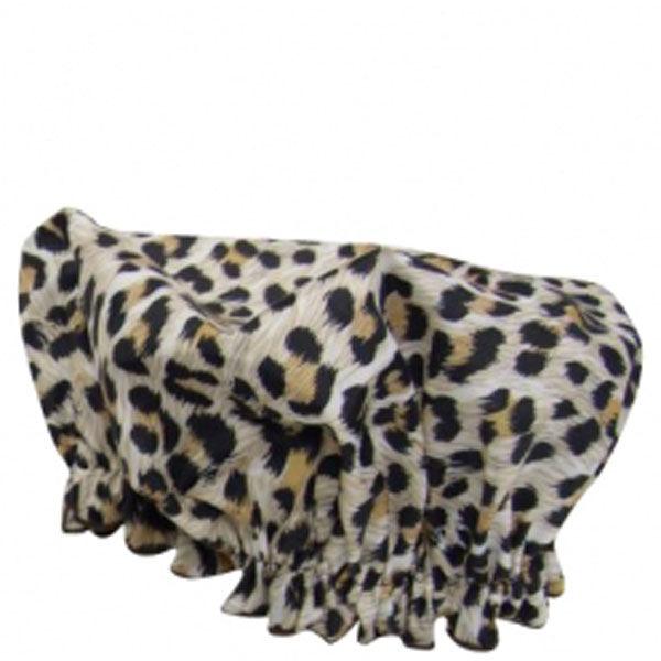 Hydrea London Eco Friendly Shower Cap - Leopard