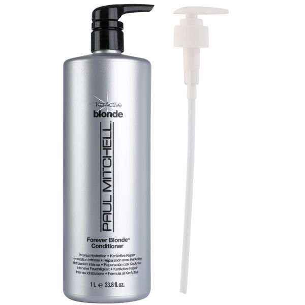 Paul Mitchell Forever Blonde Conditioner 1000ml with Pump (Worth £37.75)