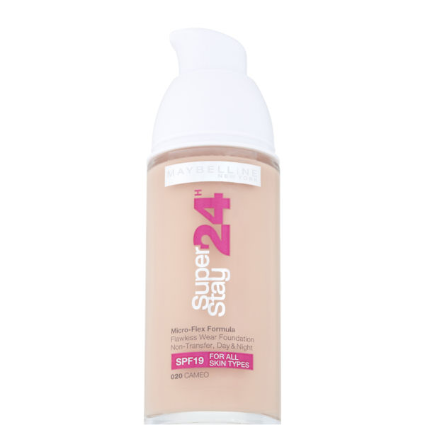 Maybelline new york super stay 24 hour foundation cameo for 24 hour beauty salon nyc