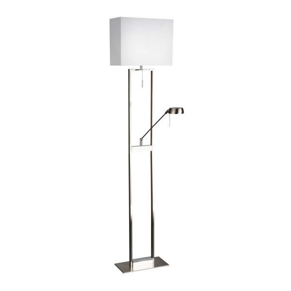 Philips eseo lorca floor lamp nickel homeware thehut philips eseo lorca floor lamp nickel aloadofball Image collections
