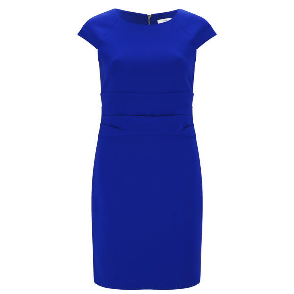 Diane von Furstenberg Women's Greta Drape Waist Dress - Cosmic Cobalt