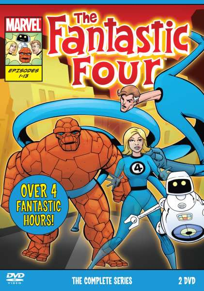 Fantastic Four The Complete Series Dvd Zavvi
