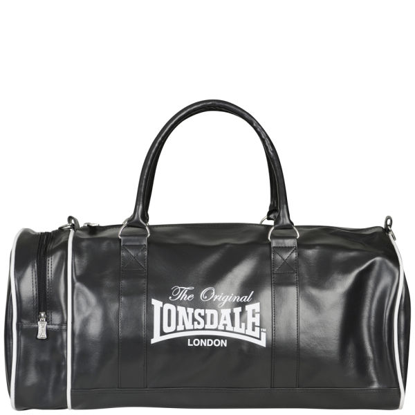 Lonsdale Duffle Bag Black Mens Accessories Zavvi