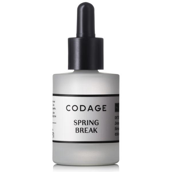 CODAGE Spring Break Detox and Skin Awakening sérum réparateur