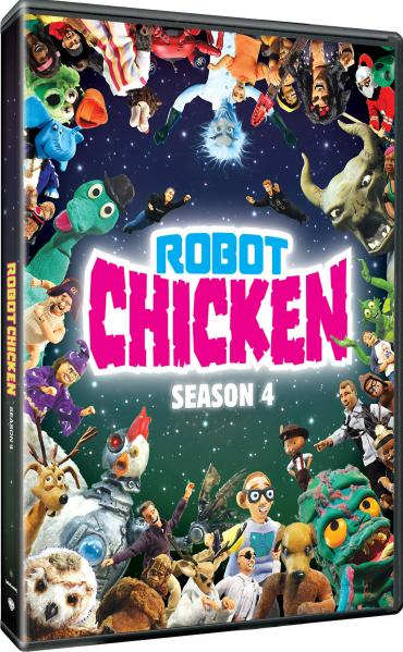 Robot Chicken Season 4 Adult Swim Dvd Zavvi