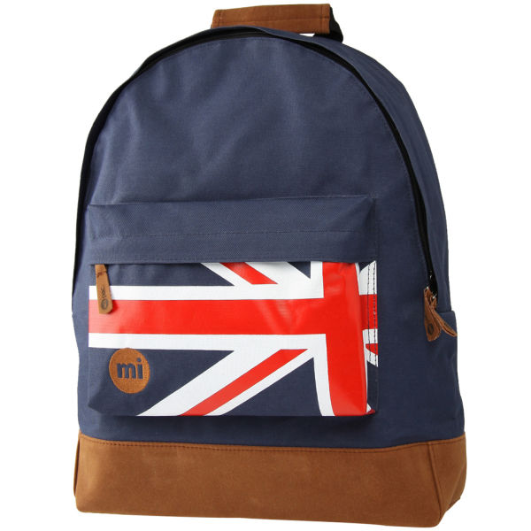712e0be3954 Mi-Pac Flag Backpack - Red/Blue/White: Image 1