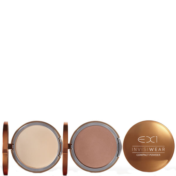 EX1 Cosmetics Invisiwear Compact Powder 9.5g (Various Shades)