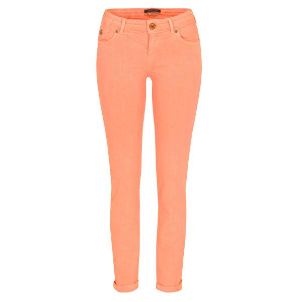 Maison Scotch Women's 85711 La Parisienne Skinny Jeans - Neon Coral