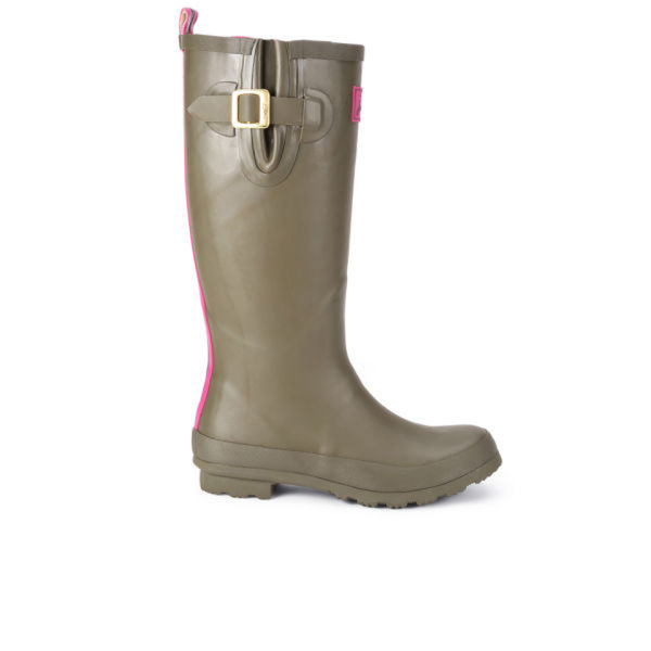 Joules Women's Field Wellies - Olive