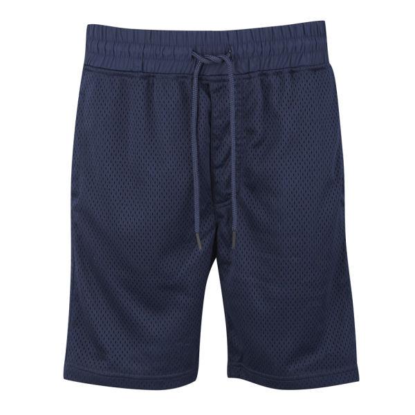 Jack & Jones Men's Mesh Sweat Shorts - Dress Blue Mens Clothing ...