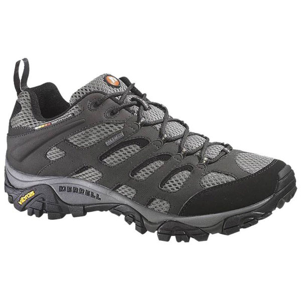 Merrell Men's Moab GORE-TEX Hiking Shoes - Beluga Grey