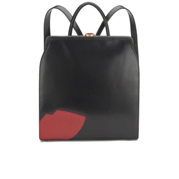 Womens Backpack Backpack Handbag Black (Black) Lulu Guinness HIDpXi