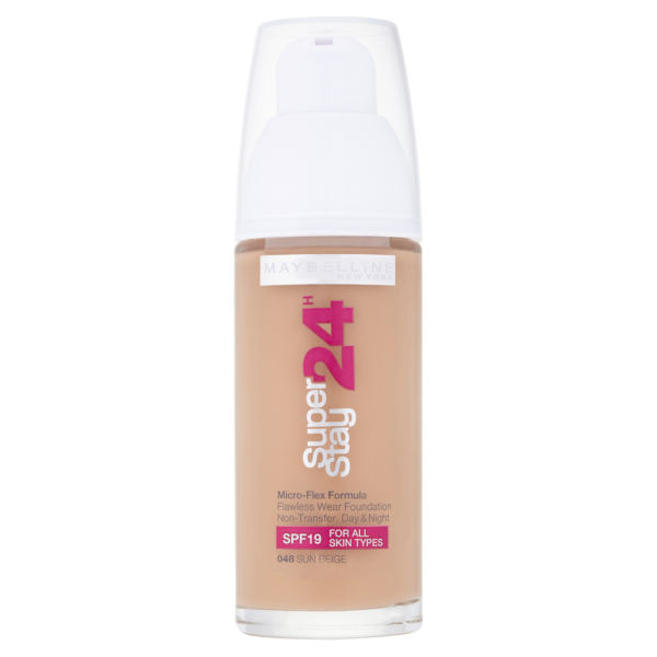 Maybelline New York Super Stay 24 Hour Foundation - Sun Beige 48