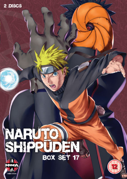 Naruto Shippuden: Box Set 17 (Episodes 206-218)