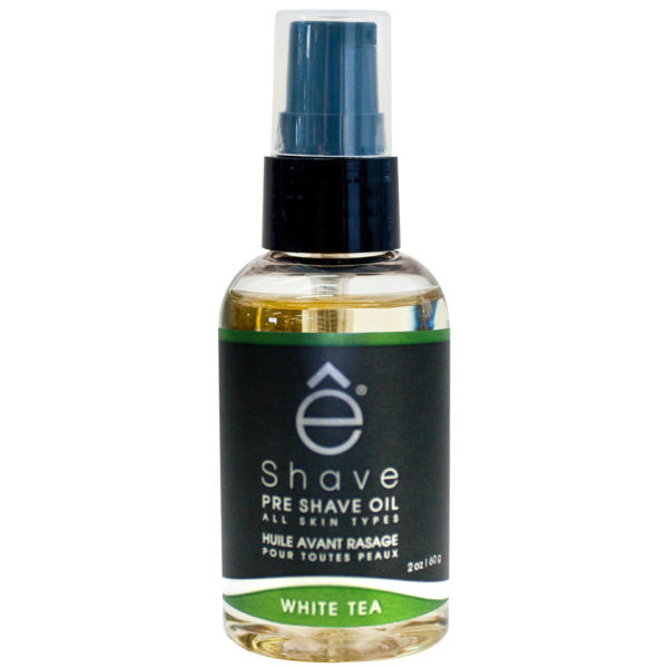 e-Shave White Tea Pre Shave Oil 59ml