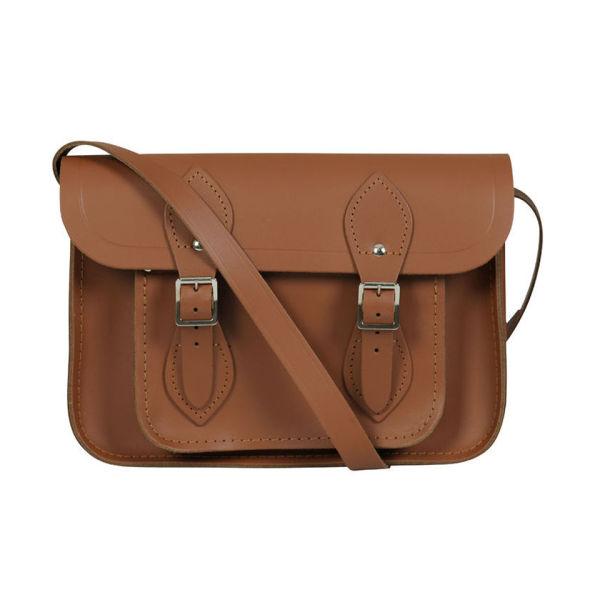 The Cambridge Satchel Company 11 Inch Classic Leather Satchel - Tan