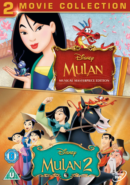 Mulan 1 and 2 DVD : Zavvi.com