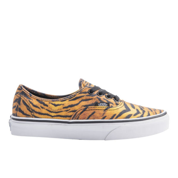 Vans Authentic Tiger Trainers - Brown/True White