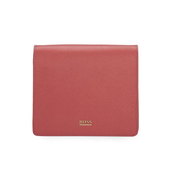 Leather Foldover Purse - Bright red HUGO BOSS fbieikF