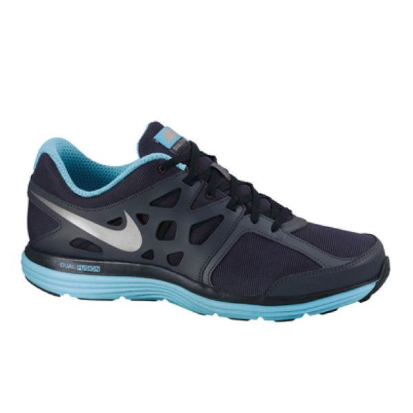 nike men 39 s dual fusion lite running shoes navy probikekit uk. Black Bedroom Furniture Sets. Home Design Ideas